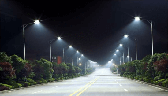 LED Lights in the street